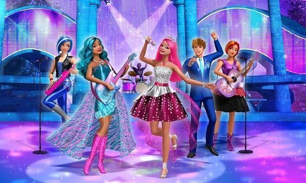 Νέα ταινία Barbie: Η πριγκίπισσα και η ροκ σταρ!