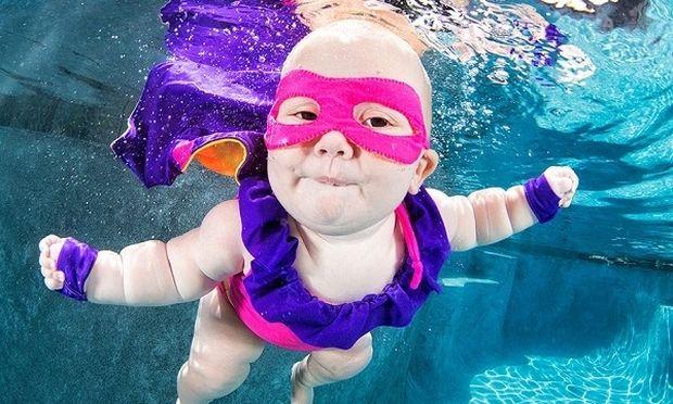 Μώρακια κάτω από το νερό! (εικόνες)