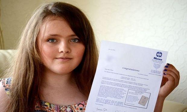 Αυτή είναι η 12χρονη που ξεπέρασε το IQ του Αϊνστάιν! (εικόνα)