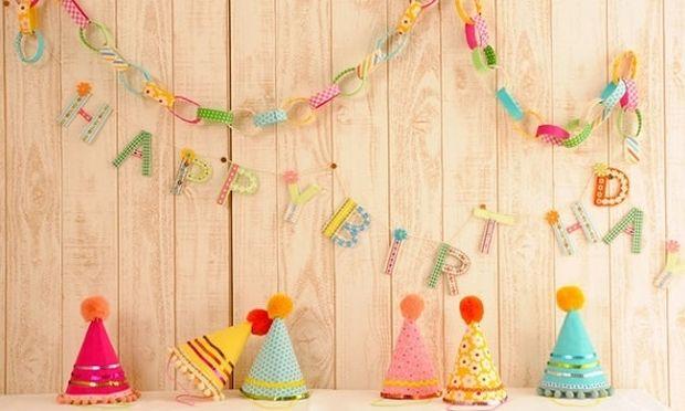 DIY: Φτιάξτε τις πιο όμορφες γιρλάντες για παιδικό πάρτι σε 10 λεπτά! (βίντεο)