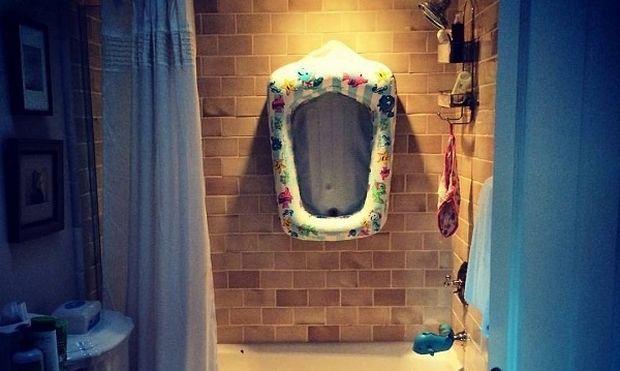 Κόρη διάσημου ζευγαριού μετά τα πρώτα της γενέθλια απέκτησε δικό της μπάνιο (εικόνα)