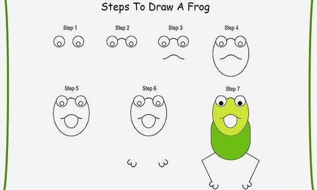 Φτιάξτε ένα βατραχάκι για το μικρό σας με 7 εύκολα βήματα! (εικόνα)