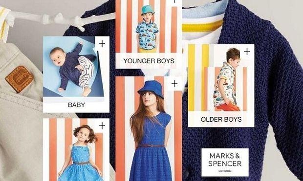 Παιδική συλλογή Marks & Spencer  σε τιμές που θα λατρέψετε!