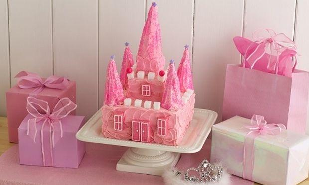 Ιδέες για παιδικό πάρτι: Εντυπωσιακή τούρτα για τη μικρή σας πριγκίπισσα (βίντεο)