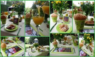 Φτιάξτο μόνη σου: Διακοσμήστε το τραπέζι του Κυριακάτικου πρωινού!