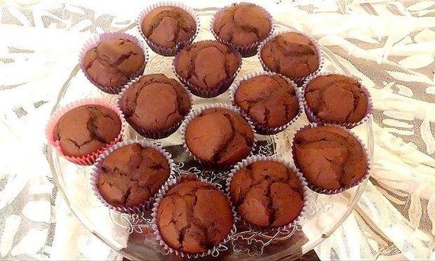 Δεκατιανό στο σχολείο: Κεκάκια σοκολάτας από τα χεράκια μας! (εικόνες βήμα-βήμα)