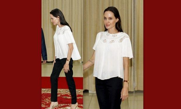 Αγωνία για την Angelina Jolie – Η νέα της εμφάνιση που σοκάρει