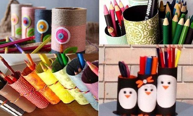 DIY: Φτιάξτε φανταστικές, πολύχρωμες μολυβοθήκες για τη νέα σχολική χρονιά με 3 μόνο υλικά!