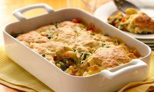 Συνταγή για κοτόπιτα με λαχανικά στο πι και φι