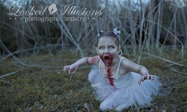Αυτό θεωρείται τέχνη; Δείτε τρομακτικές-«καλλιτεχνικές» φωτογραφίες παιδιών!
