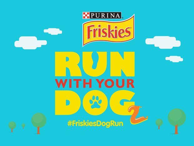 Το 2ο Run with your Dog πραγματοποιείται από τα Friskies® στις 4 Οκτωβρίου στο Άλσος Εθνικής Τραπέζης στη Φιλοθέη