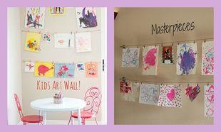 Deco: Στολίστε τους τοίχους με παιδικές ζωγραφιές!