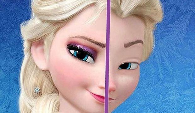 Έτσι είναι οι πριγκίπισσες της Disney χωρίς…μακιγιάζ! (βίντεο)