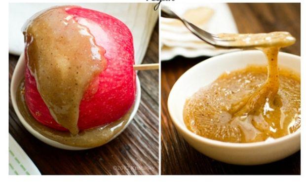 Μήλα με καραμέλα καρύδας
