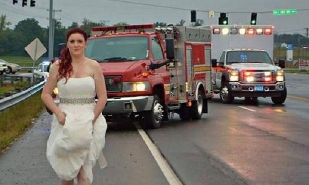 Δείτε τι έτυχε στη νύφη αυτή την ημέρα του γάμου της