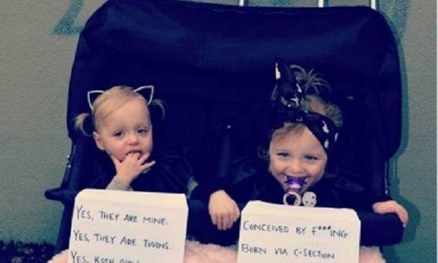 Δείτε τι έκανε μία μαμά για να αποφύγει τα σχόλια για τις κόρες της