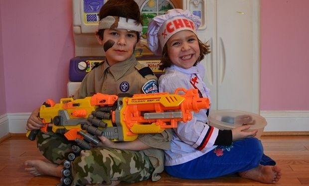 Παιδί και πολεμικά παιχνίδια: Απαγορευμένος καρπός ή απαραίτητη βιταμίνη;
