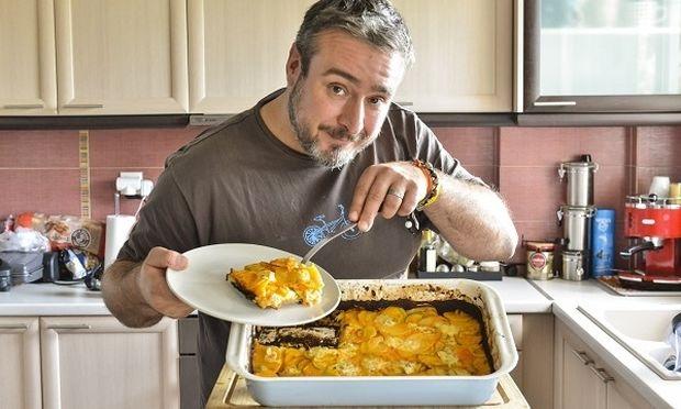 Gratin λαχανικών με τυρί, κρέμα και χαμηλά λιπαρά από τον Γιώργο Γεράρδο