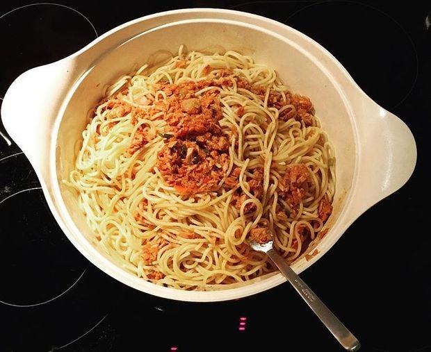 Despoina's little stories: «Η συνταγή μου για την πιο νόστιμη τονομακαρονάδα»