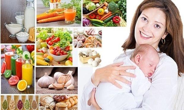 Τι πρέπει να τρώει η μητέρα που θηλάζει