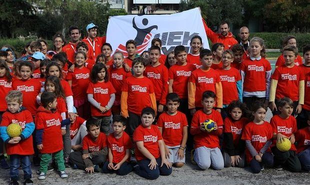 Ο ΙΕΚ ΞΥΝΗ ΔΙΚΕΑΣ διοργάνωσε το 1ο Street Handball!