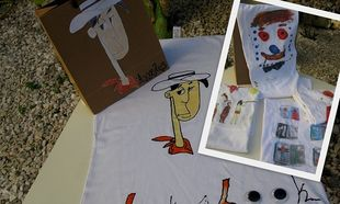 Φτιάξτε τις πιο μοδάτες μπλούζες με ζωγραφιές των παιδιών σας