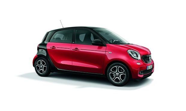 Smart forfour: Το αυτοκίνητο για τον άνδρα, τη γυναίκα και όλη την οικογένεια