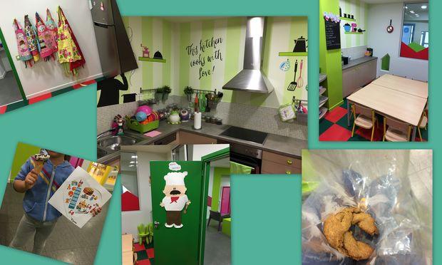 Despoina's little stories: «Μαμά σήμερα θα φτιάξω ελιοπιτάκια»!