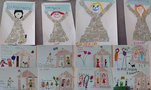 Τα παιδιά ζωγραφίζουν για το Πολυτεχνείο