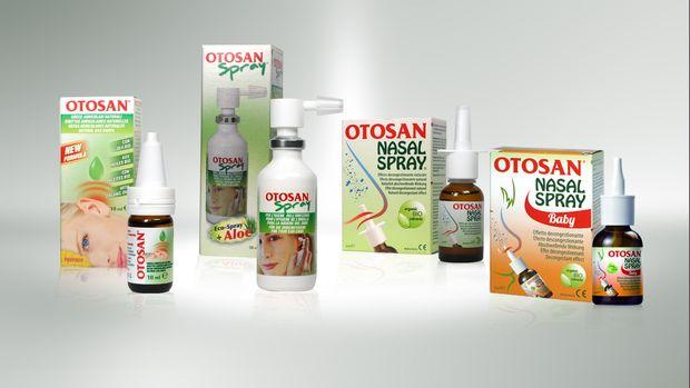 Otosan Drops, ωτικές σταγόνες και Otosan Spray