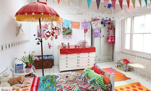 Deco: Ιδέες για vintage παιδικά δωμάτια (εικόνες)