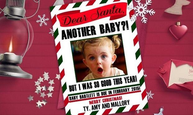 Εξυπνες χριστουγεννιάτικες ιδέες για να ανακοινώσετε την εγκυμοσύνη σας (φωτό)
