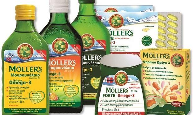 MÖLLER'S: Το αυθεντικό μουρουνέλαιο