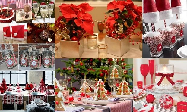 Deco: Στολίστε γιορτινά το Χριστουγεννιάτικο τραπέζι σας (εικόνες)