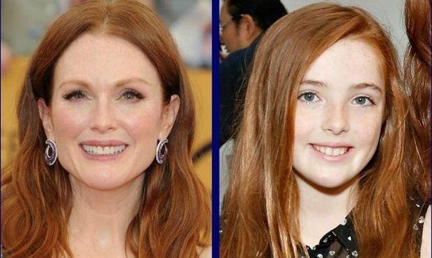Διάσημες μαμάδες με τους ...κλώνους τους. Η ομοιότητα με τις κόρες τους είναι απίστευτη! (εικόνες)