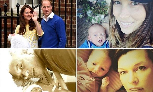 Δείτε τα διάσημα μωρά που γεννήθηκαν το 2015