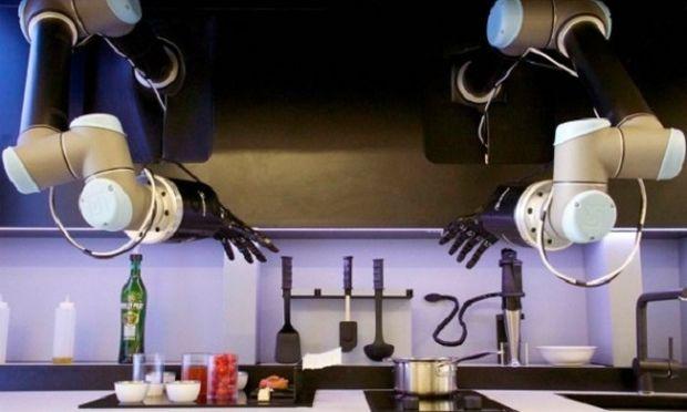 Έρχεται το ρομπότ-σεφ που μαγειρεύει και καθαρίζει την κουζίνα! (βίντεο)