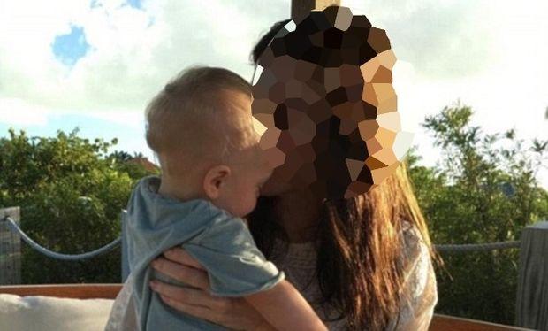 Ξετρελαμένη με τον 10 μηνών γιο της είναι γνωστή ηθοποιός (φωτό)