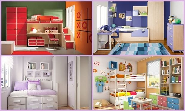 Ένα παιδικό δωμάτιο… όνειρο μικρών ηρώων!