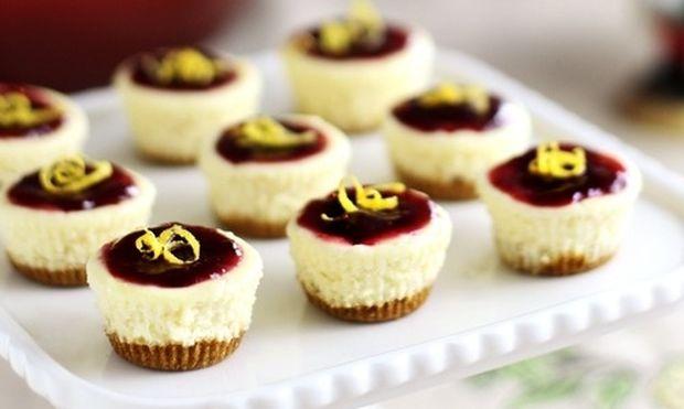 Cheesecake ατομικά για την Ημέρα των ερωτευμένων!
