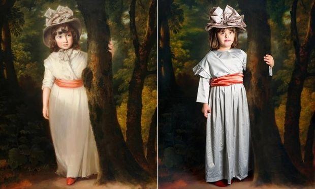 Παιδιά με Σύνδρομο Down μεταμορφώνονται σε γνωστά έργα τέχνης!
