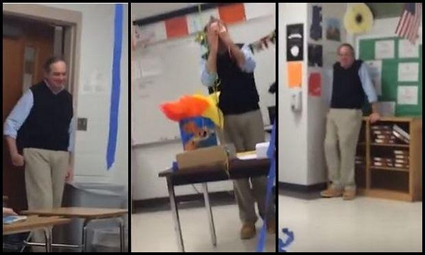 Η χειρονομία των μαθητών έκανε τον καθηγητή τους να δακρύσει! (βίντεο)
