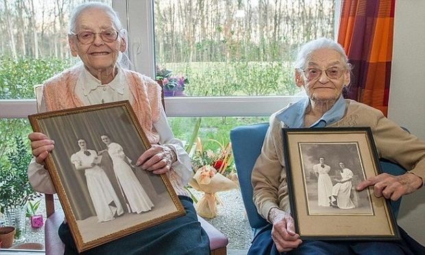 Είναι δίδυμες αδελφές και φέτος γιόρτασαν τα... 208 χρόνια τους!