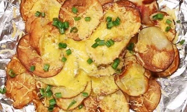 Σπιτικά nachos από πατάτες!