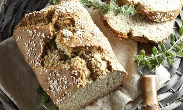 Πανεύκολο ψωμί μυρωδάτο στη φόρμα