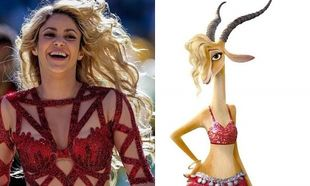 Γιατί η Shakira δεν ήθελε αδύνατη τη γαζέλα της ταινίας κινουμένων σχεδίων Zootopia
