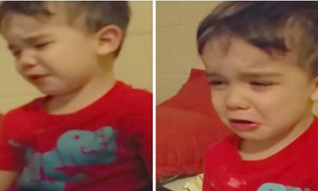 Ο μικρός αρνείται να φάει το φαγητό του για έναν απίστευτο λόγο! (βίντεο)