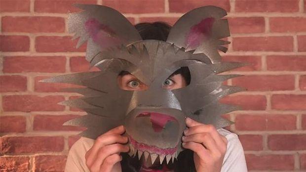 Απόκριες 2016-Εντυπωσιακή αποκριάτικη μάσκα λύκου (βίντεο)