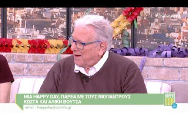 Kώστας Βουτσάς: «Γιατί δεν θέλω να ονομάσω το παιδί μου Kώστα Βουτσά τζούνιορ» (βίντεο)