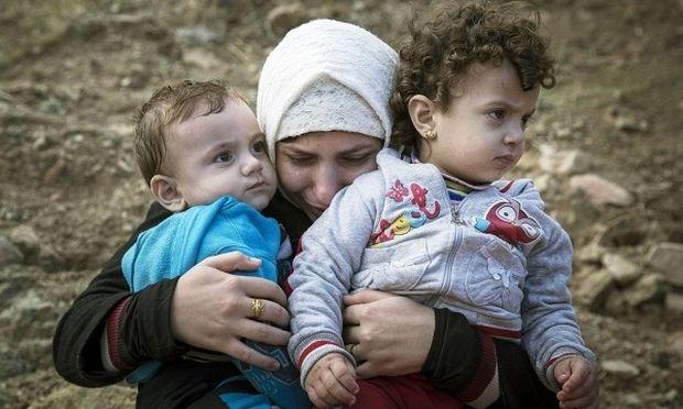 Μάνα πρόσφυγας, ξαναβρήκε τα παιδιά της, μετά από 20 ημέρες
